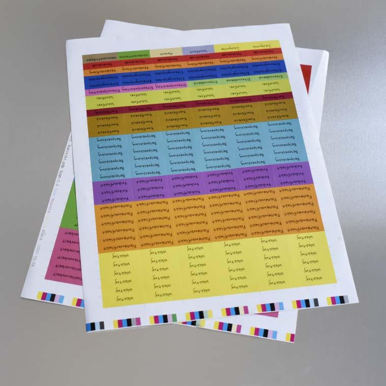 Arkusz plano kolorowy