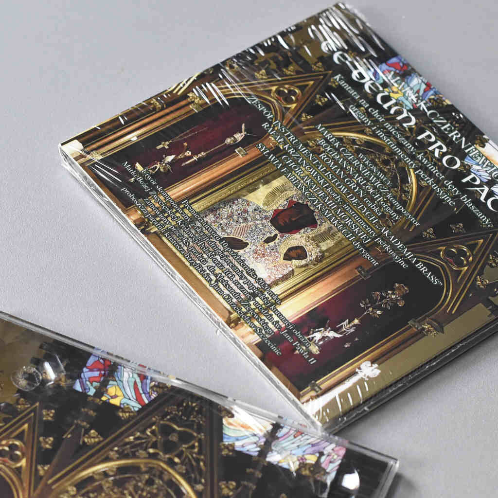 Te Deum Pro Patia Digipack Tloczenie cd audio