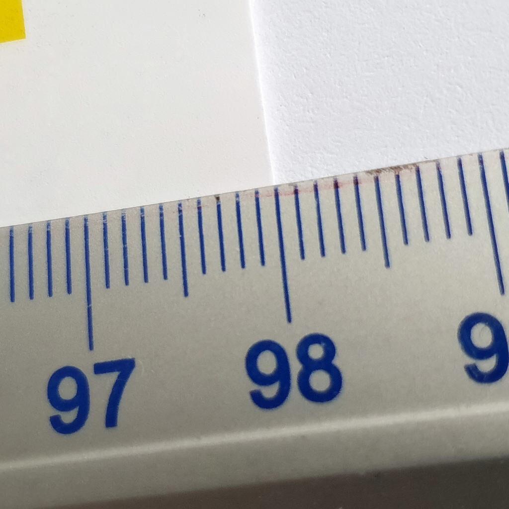 Arkusz plano szerokość zadruku 980mm