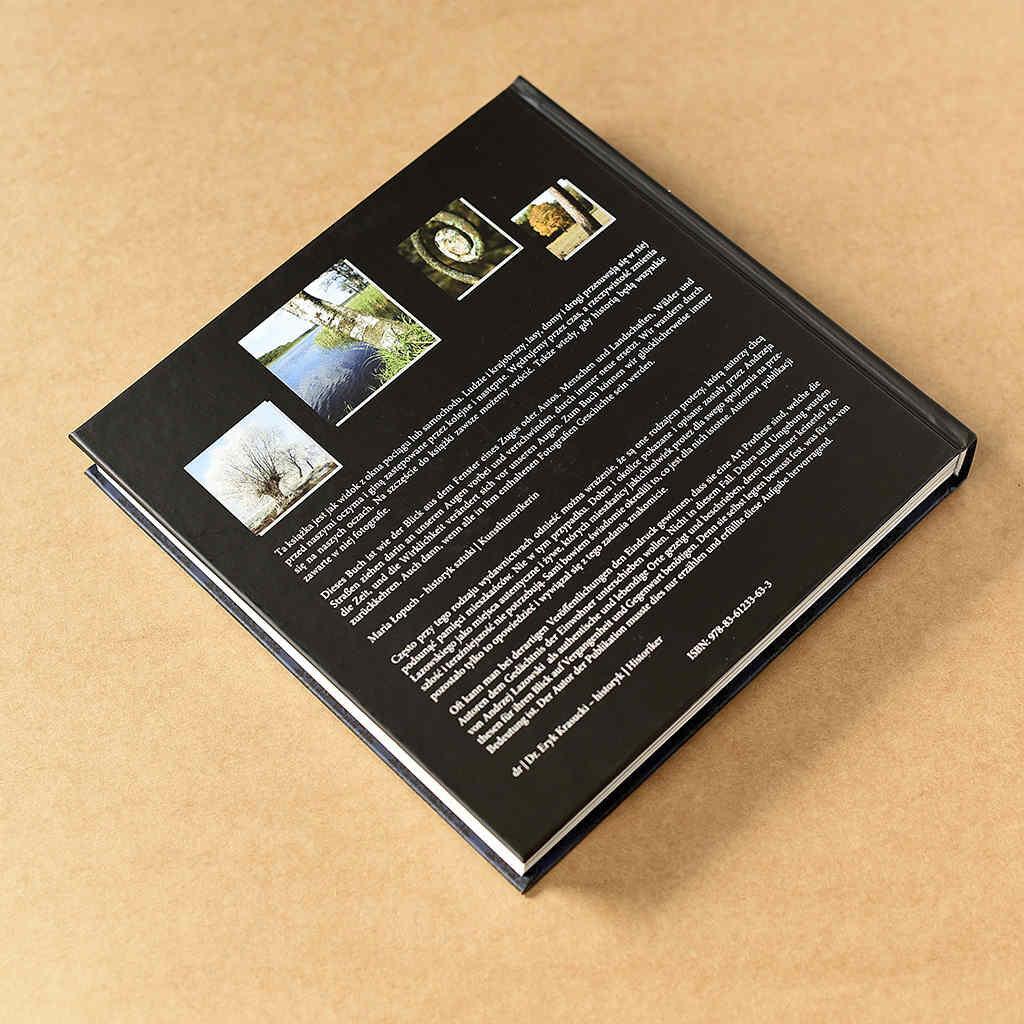 Dobra i Okolice okładka tylna- książka w oprawie twardej