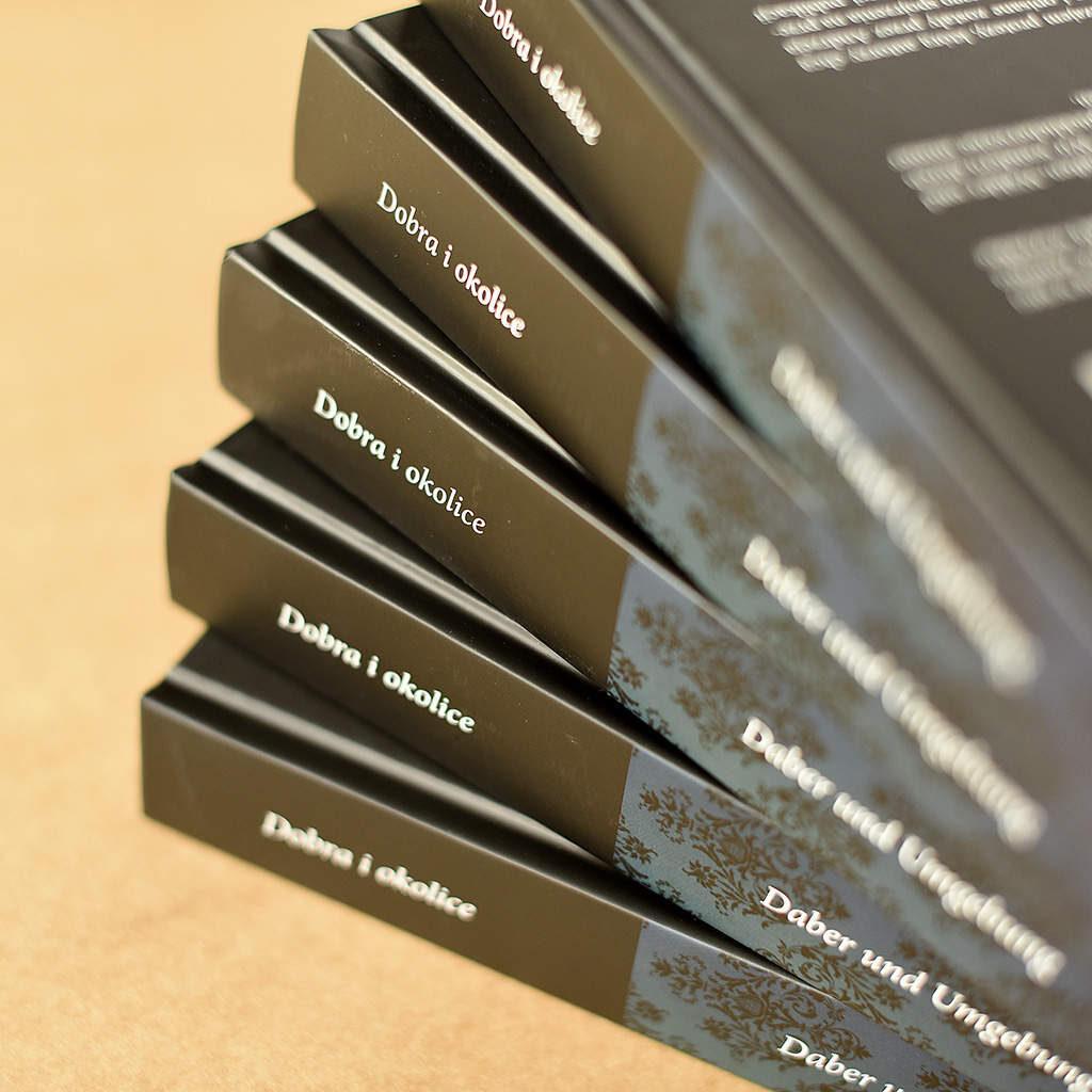 Dobra i Okolice grzbiet- książka w oprawie twardej