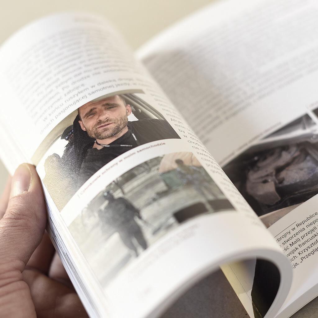 Mariusz Kurc środki książki Na obrzeżach świata w centrum życia