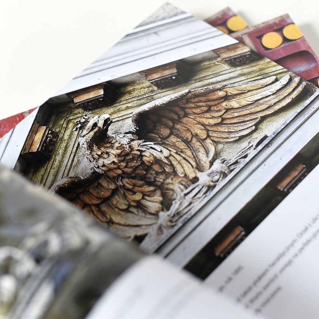 Michał Rembas - Cuda na fasadach - książka w oprawie miękkiej klejonej - środki