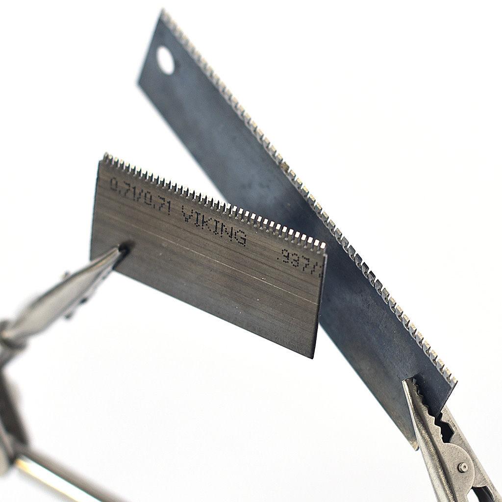 Taśma stalowa do noży perforujących