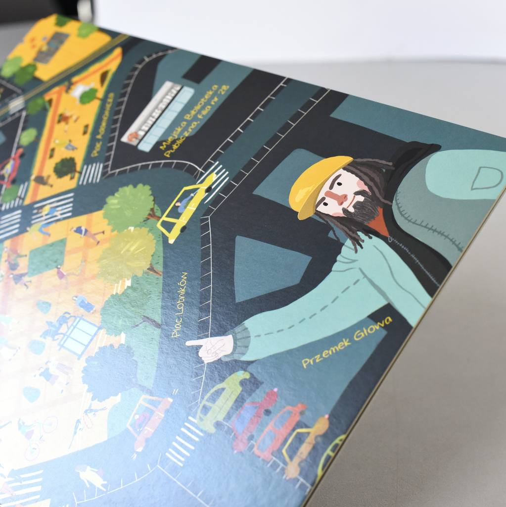 Książka kartonowa Fikamy