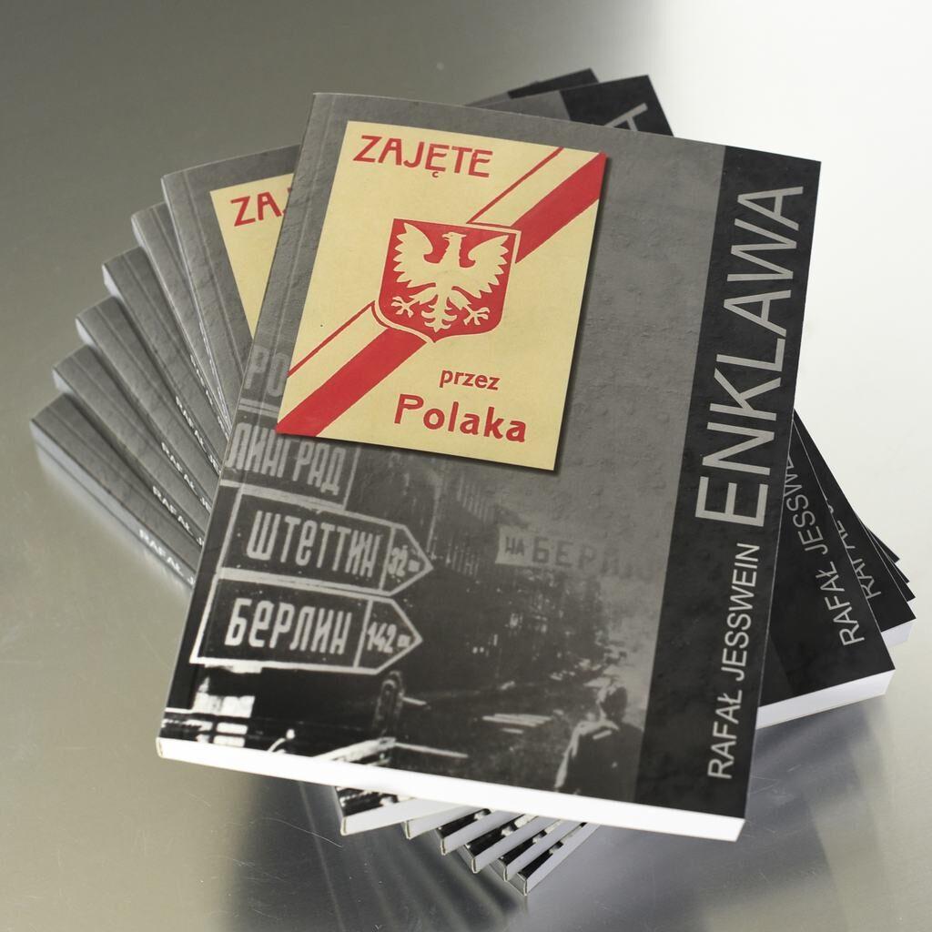 Zdjęcie książki Rafała Jesswein pt. Enklawa
