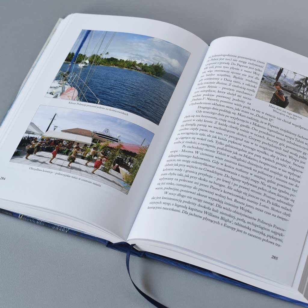Zdjęcie książki w oprawie twardej Wiesława Drabika Dogonić Horyzont